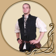 LARP Costume- Othello Leathervest